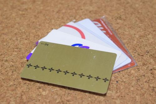 キャッシュレスカードの特徴